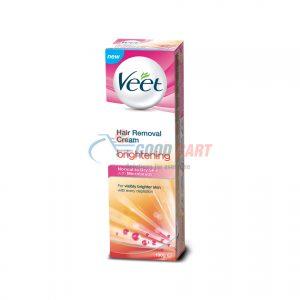 Veet Brightening Cream For Normal To Dry Skin 100g