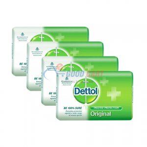 Dettol Pack Of 4 Soap Original 138g