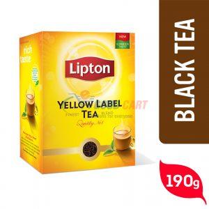 Lipton Yellow Label Black Tea 190g