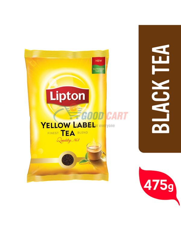 Lipton Yellow Label Black Tea 475g