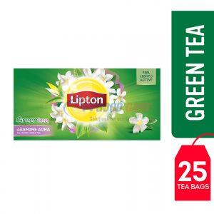 Lipton Green Tea Jasmine Aura 25 Teabags