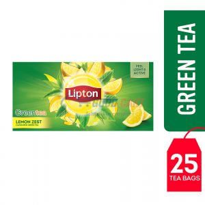 Lipton Green Tea Lemon Zest 25 Teabags