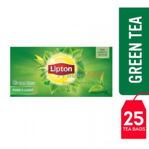 Lipton Green Tea Pure & Light 25 Teabags