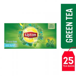 Lipton Green Tea Mint Burst 25 Teabags
