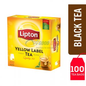 Lipton Yellow Label Black Tea 100 Teabags