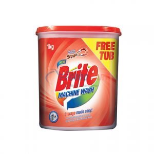 Buy Brite Machine Wash 1kg with FREE Tub