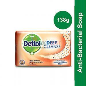 Dettol Deep Cleanse Soap 138g