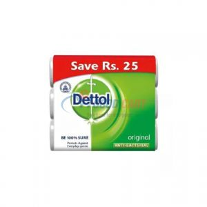 Dettol Pack Of 3 Soap Original 100g