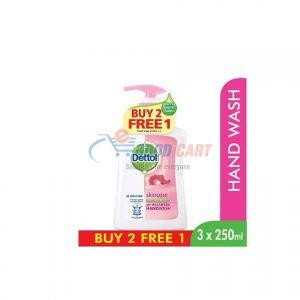 Dettol Handwash Skincare 250ml Buy 2 Get 1 Free