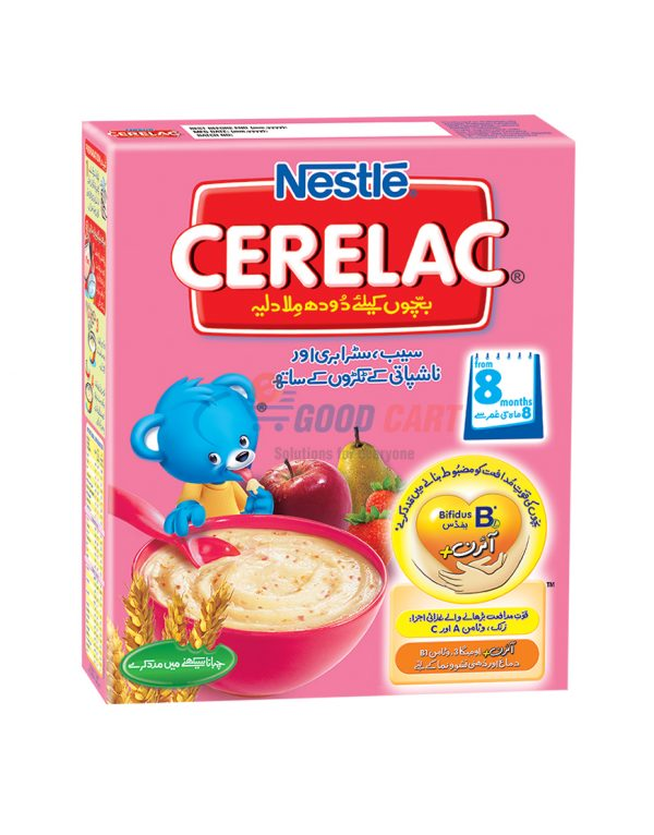 Nestle Cerelac Strawberry Apple 175g